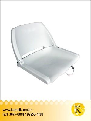 Assento dobrável plastico Branco