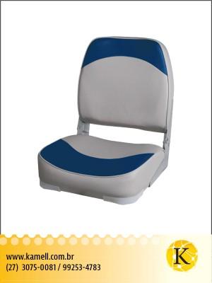 Assento dobrável plastico com espuma vinil GB