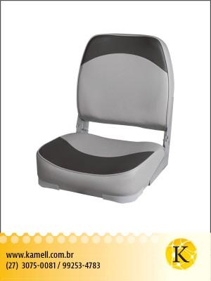 Assento dobrável plastico com espuma vinil GC
