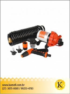 Bomba de água Seaflo com kit de mangueira 5.0 GPM