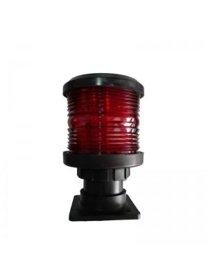 Luz de Navegação Vermelho, 360°, para barcos até 12m - 12V