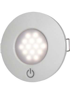 Luminária Redonda de interior em LED - (Acendimento TOUCH)