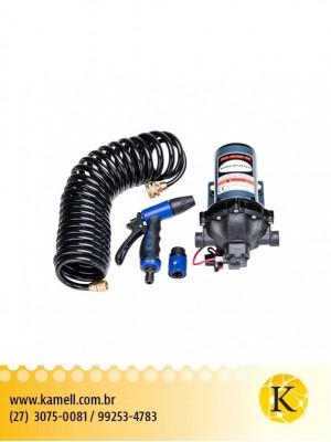 Bomba de água LIFE  4.0GPM-15LPM  60PSI 12v/7AMP com kit de lavagem