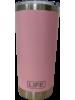 Copo LIFE térmico EM AÇO INOX, na cor Rosa, 591ML